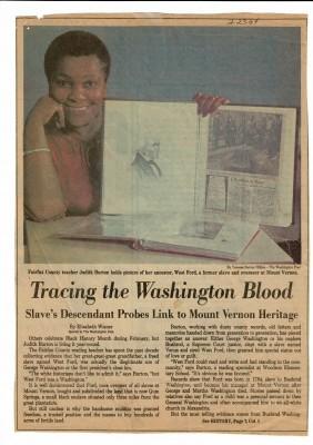 Article, Washington Post