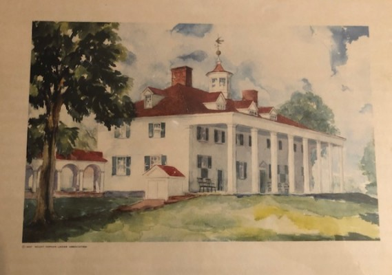 Mount Vernon Plantation 1937