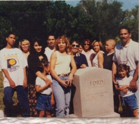 Allen Family at Camp Butler